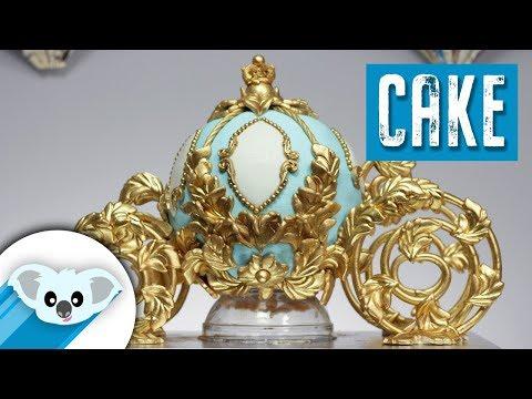 Cinderella Carriage Cake | DIY & How to | Disney Princess | Original Design  by Vivian Pham