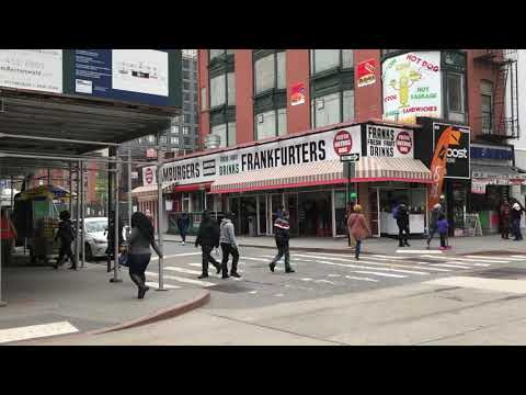 Fulton Hot Dog Place, Downtown Brooklyn, New York (5-18-18)