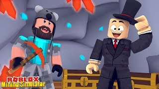 SIR MINES A LOT EVENT QUESTS!! | Mining Simulator | ROBLOX