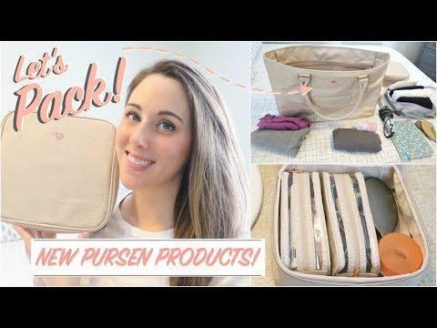 Travel   KonMari Packing using PurseN Tote & Makeup Case