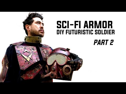 How To Make Sci-Fi Trooper Armor: Easy Step By Step Tutorial