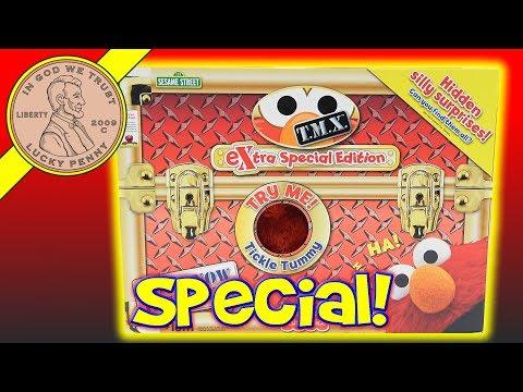 2007 Extra Special Edition TMX Tickle Me Elmo - 6 Special Elmo Tickle Tricks!