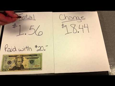 Counting Back Change