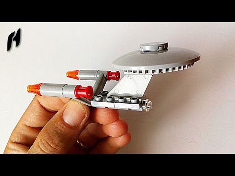 How to Build the Starship Enterprise (Small Lego Toy)