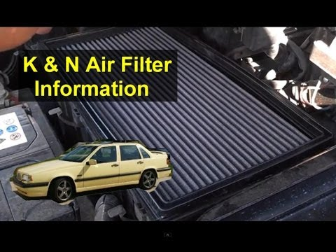 Should you install a K&N air filter in your car or truck. Information about the filters. - VOTD