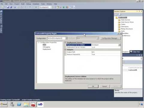 Creating the SSAS Multidimensional Solution