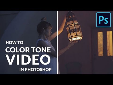 How to Color Tone Video in Photoshop
