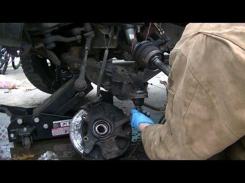 How to Replace Upper and Lower Ball Joints