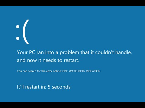 Blue Screen of Death|FIXED|Your PC Ran Into A Problem|Windows 10,8,8.1|FIXED|