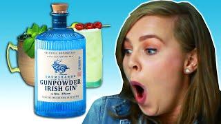 Irish People Try Gunpowder Gin Cocktails