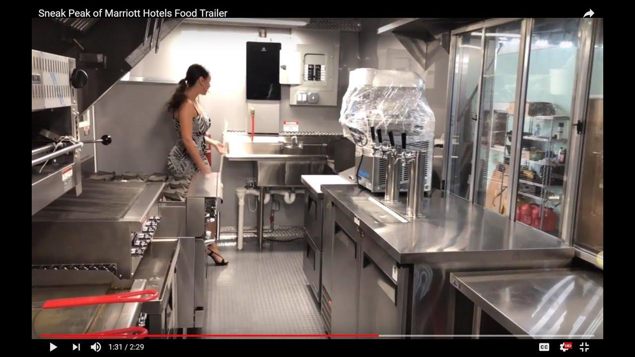 Marriott Hotels   8x26 Food Trailer   Concession Nation, Inc.