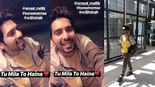 Armaan Malik Singing Tu Mila To Haina, Jamming Session & Insta Story    SLV 2019