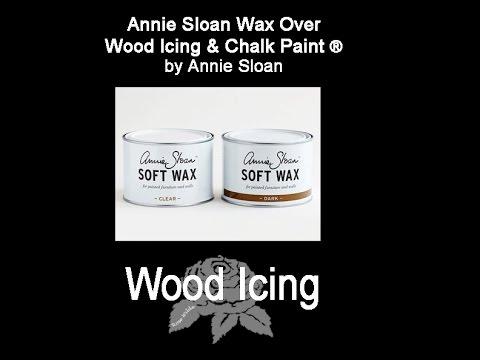 Wax demo for Annie Sloan Wax & Wax Brushes