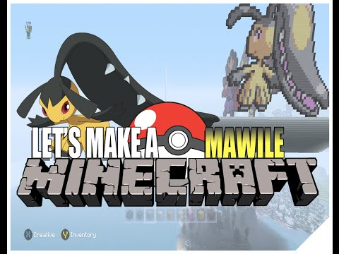 Minecraft Pixel Art Tutorial Pokemon (How To Make Pixel Art Timelapse) Mawile