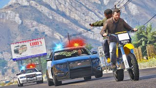 Bank Robbery in Broad Day Light | GTA 5 Action Movie