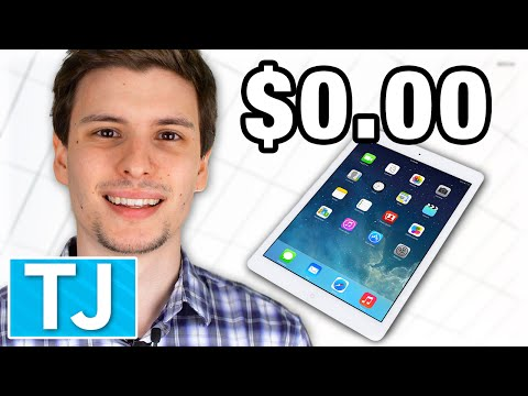 How to Get an iPad for Free