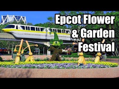 Epcot Flower & Garden Festival at  Walt Disney World! March 2017 Day 5 Part 1