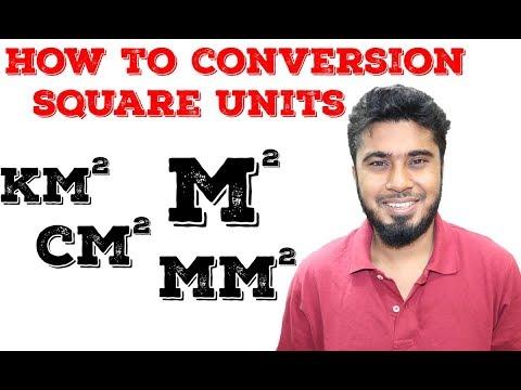 How to conversion Square Units-Square unit conversion