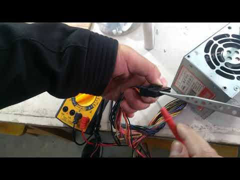SMPS power supply output voltage details using Multimeter