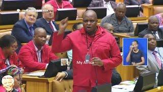"""Floyd Shivambu - """"Zuma Is Going To K... You"""""""
