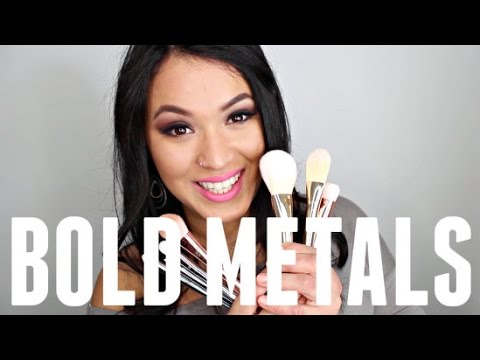 REAL TECHNIQUES BOLD METAL COLLECTION HONEST REVIEW