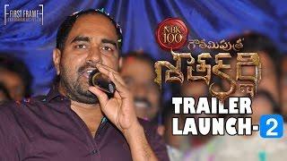 Gautamiputra Satakarni Theatrical Trailer Launch Part 2 -  Nandamuri Balakrishna, Krish   #NBK100