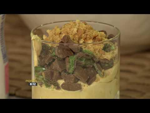 Peppermint Crisp Ice-Cream Terrine