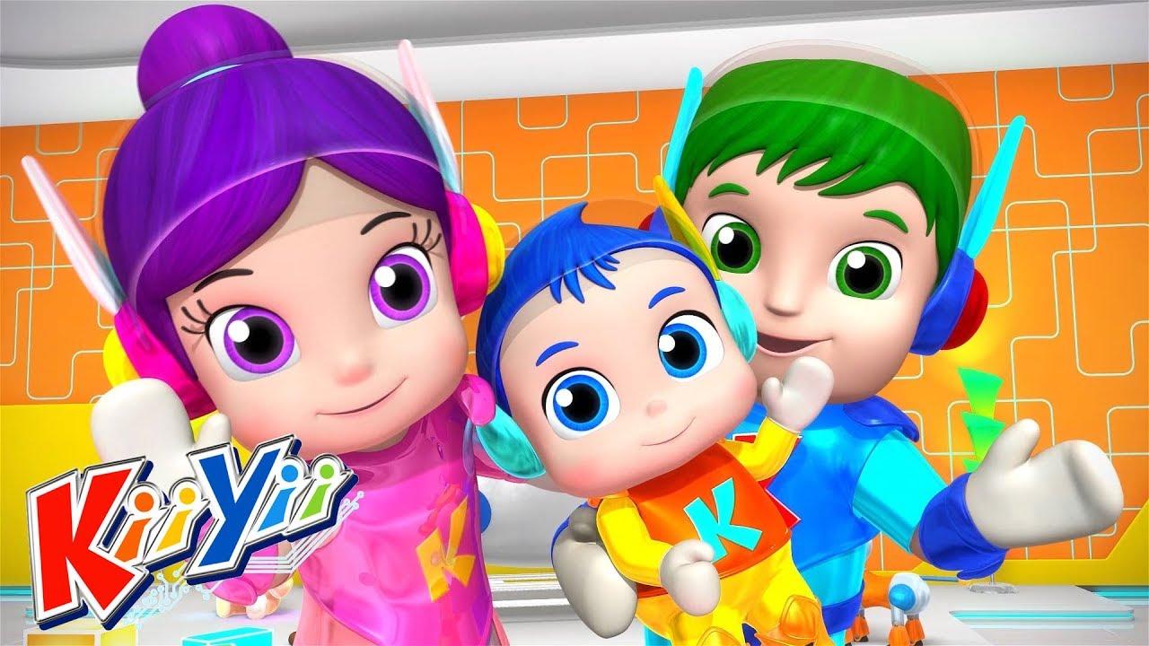 детские песни | Куку! Я тебя вижу! + Еще! | KiiYii | мультфильмы для детей