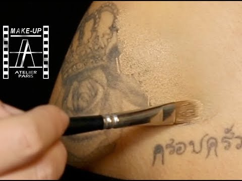 TATTOO COVER UP WITH FOUNDATION | Make-Up Atelier Paris