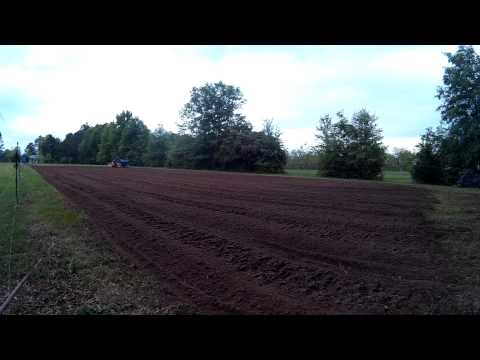 Demo of County Line 3 Point Hitch PTO Rotary Tiller - Garden Preparation