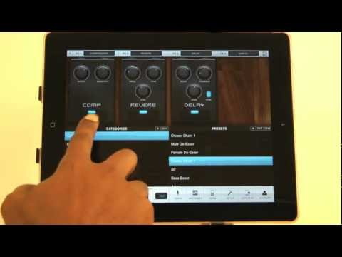 VocaLive for iPad: the first professional vocal processor for iOS!