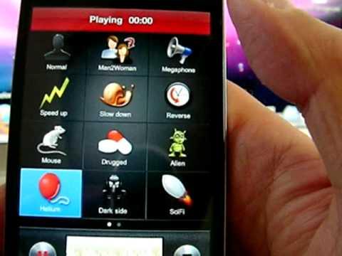 VoiceChanger (iPhone App)