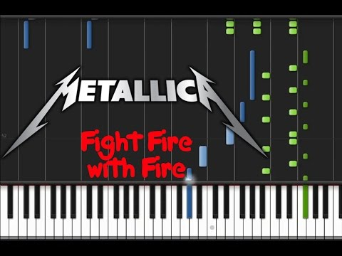 Metallica - Fight Fire with Fire [Synthesia Tutorial]