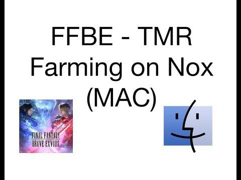 FFBE - How to TM Macro on Nox (MAC)