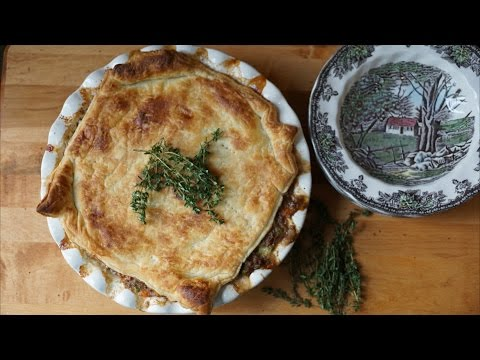 SHEPHERD'S PIE WITH PUFF PASTRY