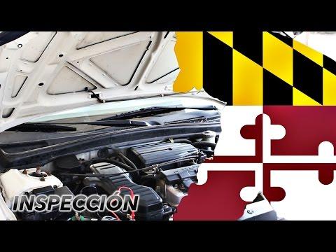 Inspección de seguridad en Maryland - Maryland vehicle inspection