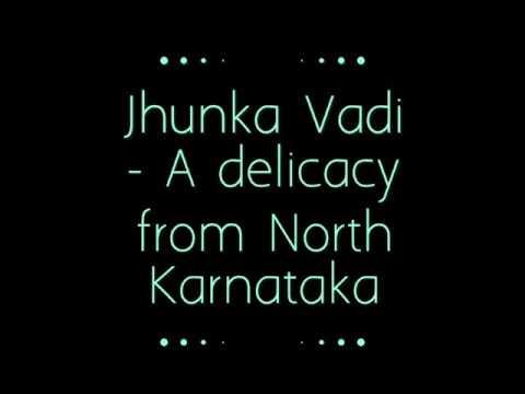 Jhunka Vadi with a Capsicum twist.