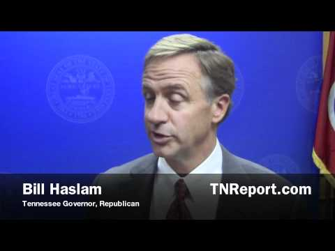 Haslam Reacts to Lt. Gov. Ramsey's Criticism of Unemployment Benefits