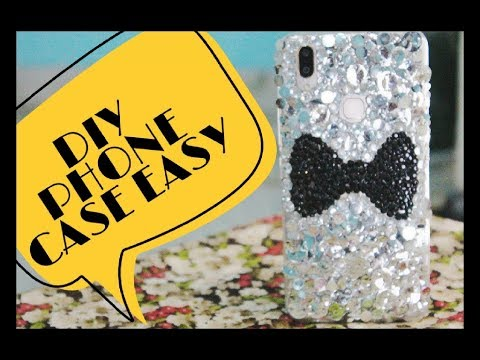 EASY DIY PHONE CASE 2018|HOW TO MAKE DIY PHONE CASE EASY AFFORDABLE Trendy Fancy| AMAZING YOU