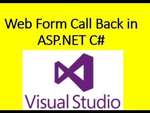 ASP.NET Web Form Call Back Features Example