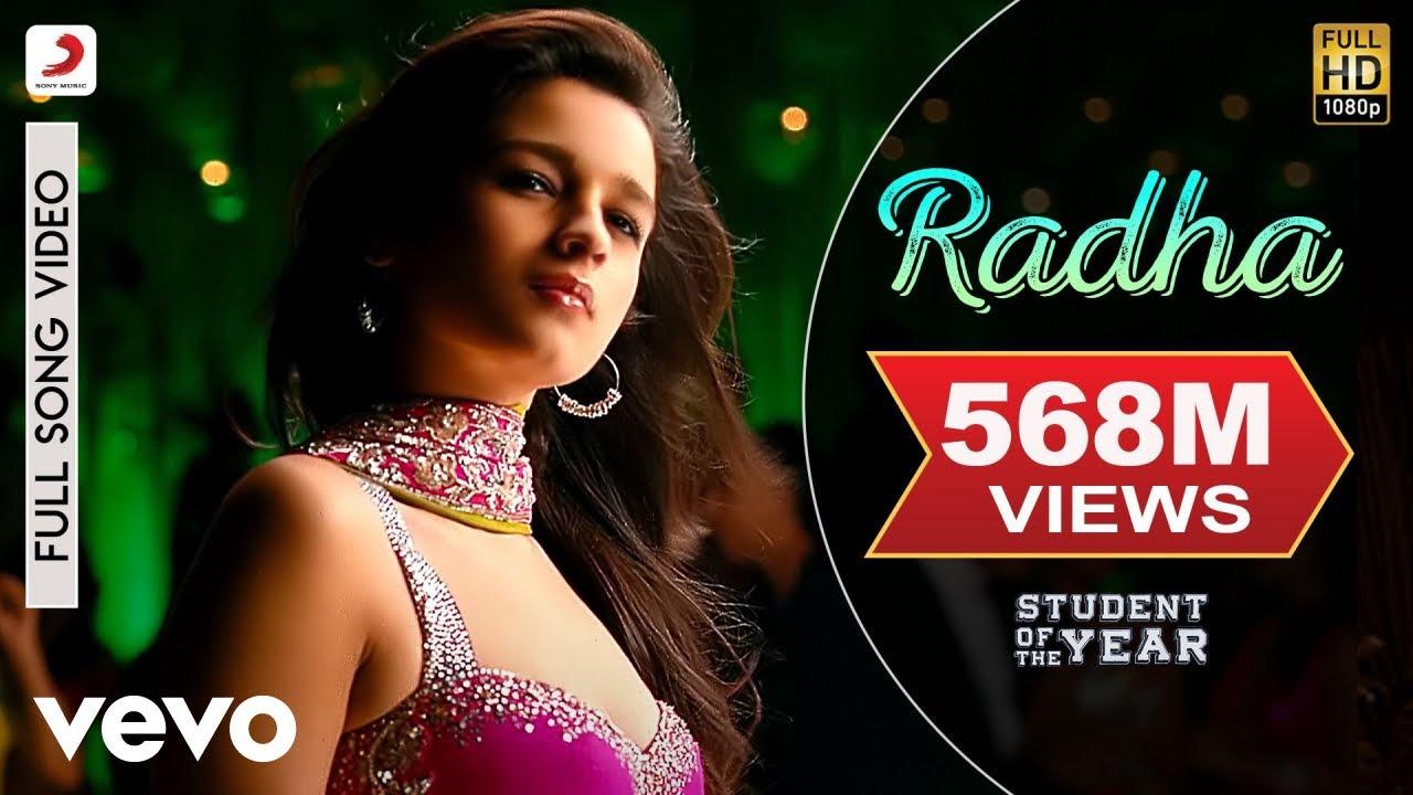 Radha - SOTY | Alia Bhatt | Sidharth Malhotra | Varun Dhawan |Udit Narayan|Shreya Ghoshal