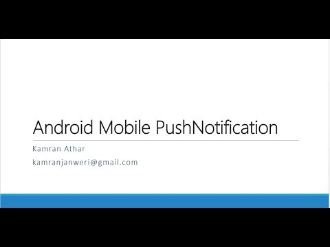 How to send android push notification from server side using push sharp in asp.net c# - urdu/hindi