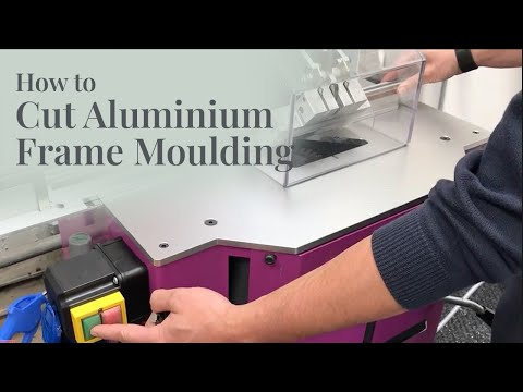 Cutting Aluminium Frame Mouldings