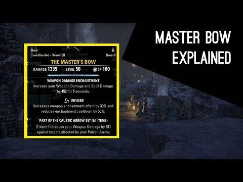 Master Bow explained, how does it work - Dragon Bones DLC