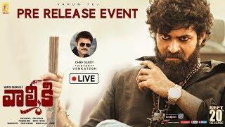 Valmiki Pre-Release Event LIVE | Varun Tej | Harish Shankar | Mickey J Meyer | 14 Reels Plus