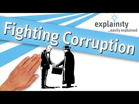 Fighting Corruption easily explained (explainity® explainer video)