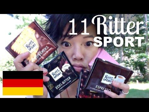 Tasting 11 Flavors of Ritter Sport