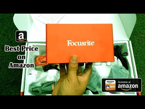 Focusrite Scarlett 2i2 Studio Bundle 2nd Gen | Best Price on Amazon