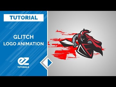 Glitch Logo Animation After Effects Tutorial (The Easiest Way)