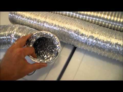 How to build a safe dryer vent. Best materials to use for a dryer vent.